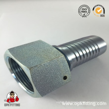 GB Metric Female 74° Cone Seat Crimp Fitting (20711)
